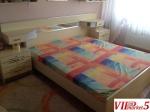 Брачен кревет со 2 наткасни + тоалет