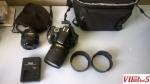 Nikon D5100 + 50mm f1.8G + 18-105mm f3.5-5.6 VR