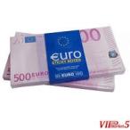 Пари 1000 € 500,000 € подготвени за брзо и
