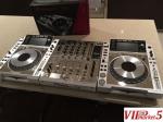 2X PIONEER CDJ-350 Turntable + DJM-350 Mixer